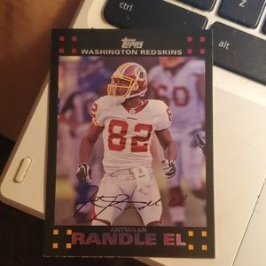 Antwaan Randle el football card